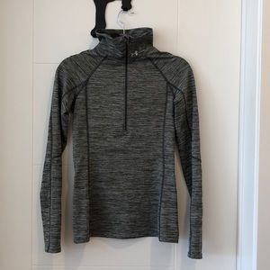 Under Armour Gray Quarter Zip
